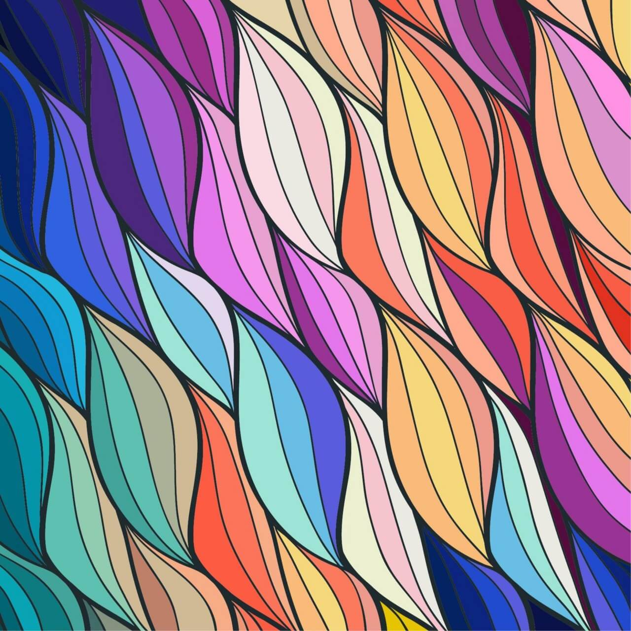 "Free vector ""Abstract colorful background"""