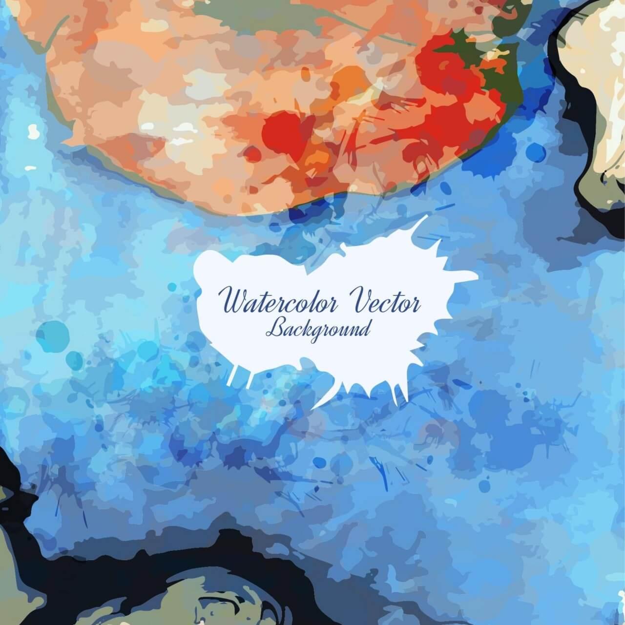 "Free vector ""Watercolor texture"""