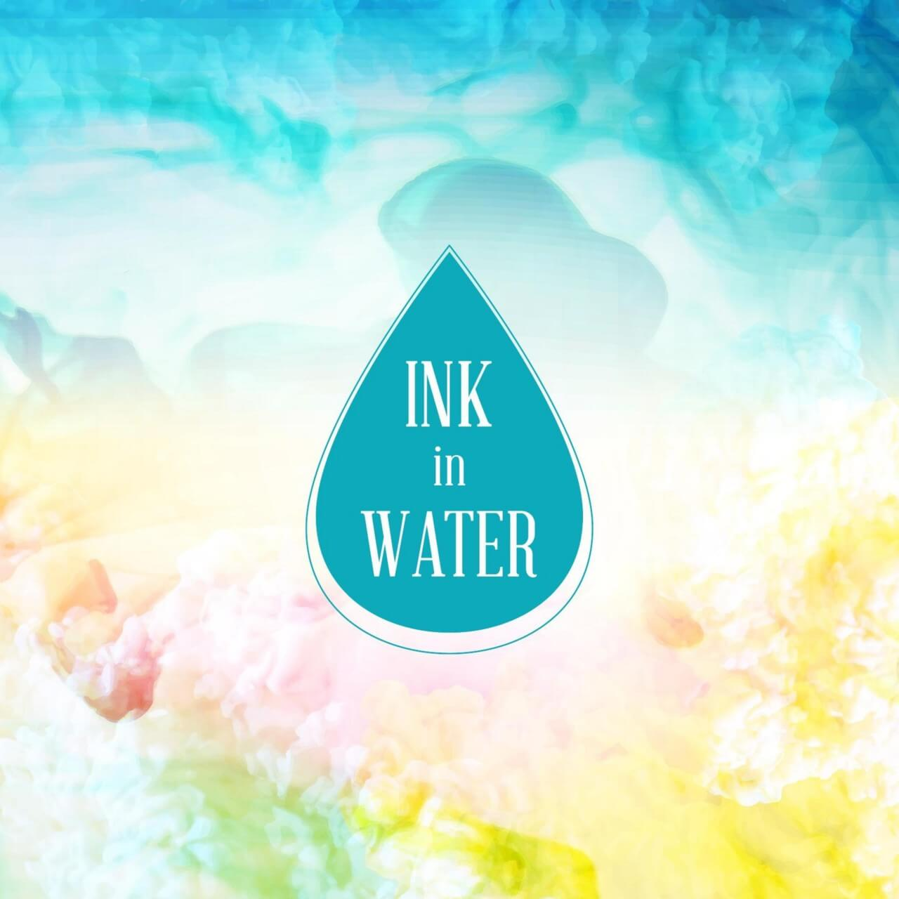 "Free vector ""Ink in water background"""