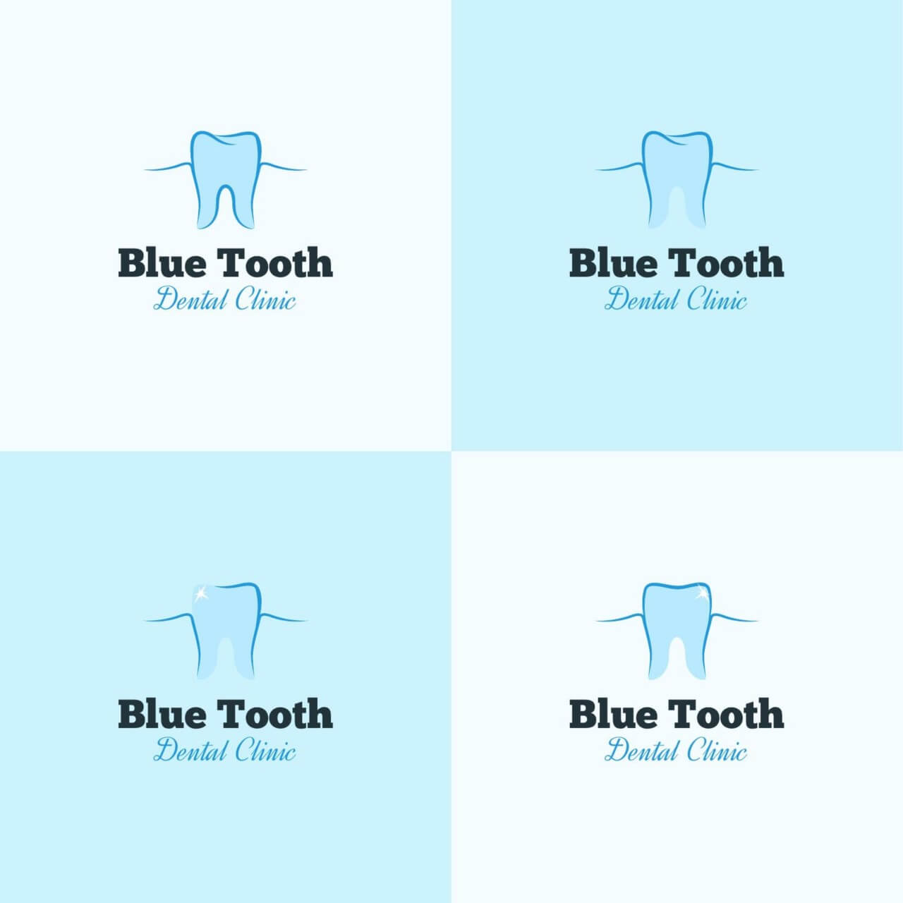 "Free vector ""Dental clinic logo design"""