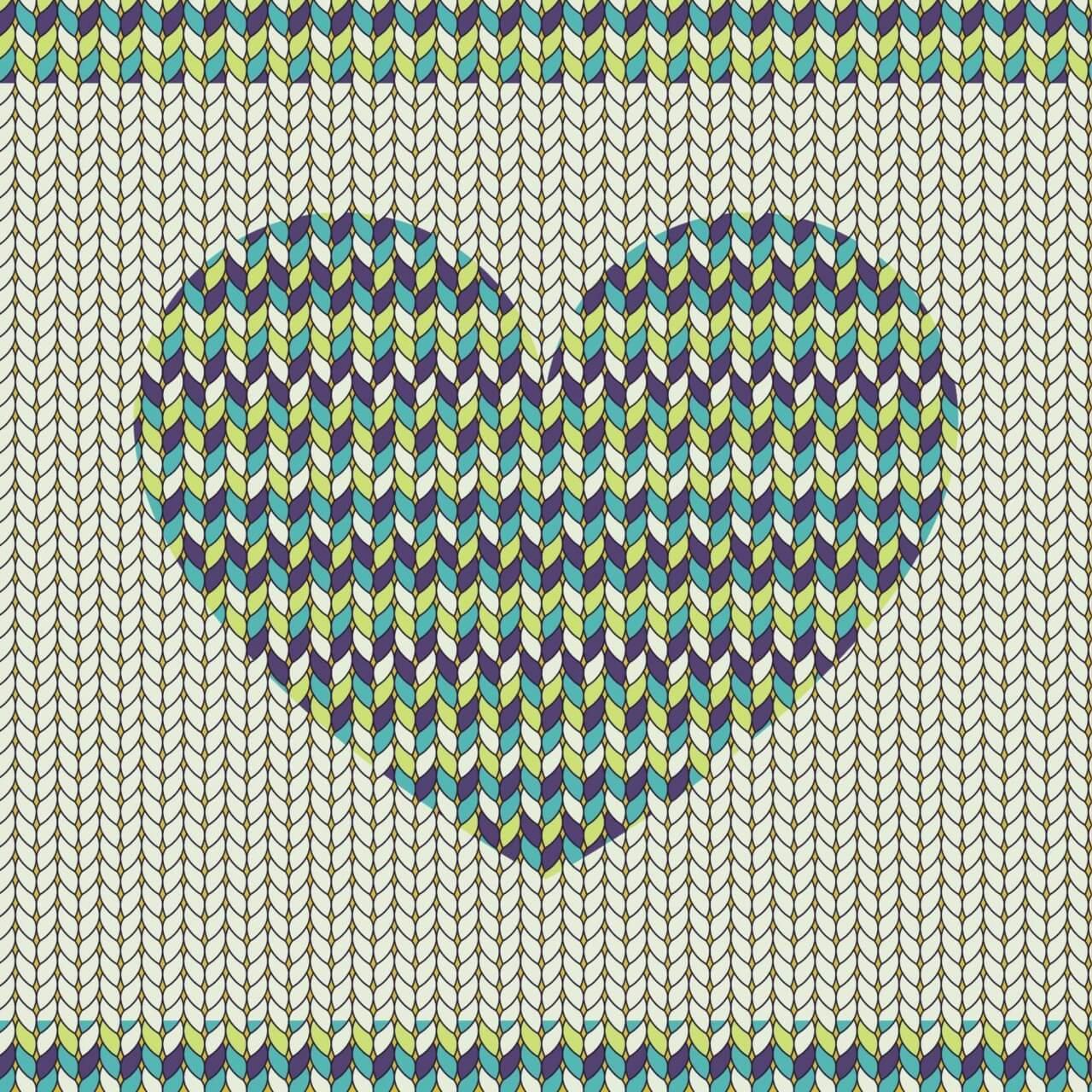 "Free vector ""Romantic fabric pattern"""