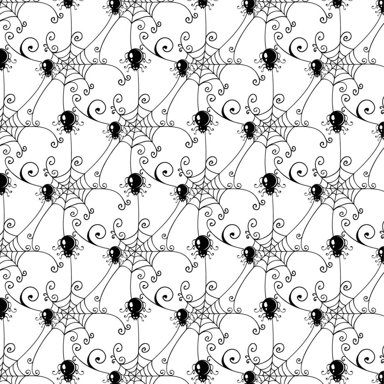 "Free vector ""Pattern with spider web background"""