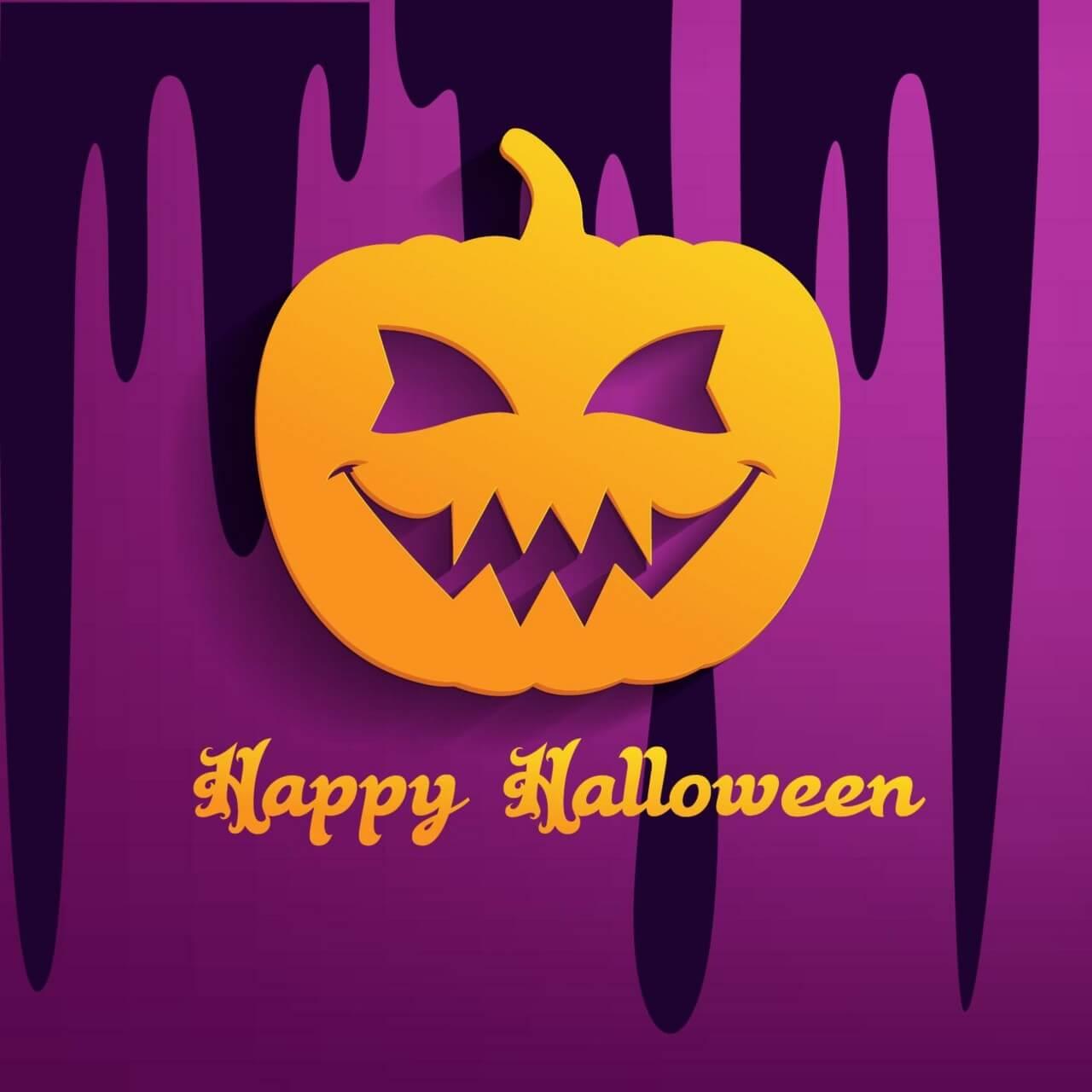 """Free vector """"Halloween pumpkin"""""""