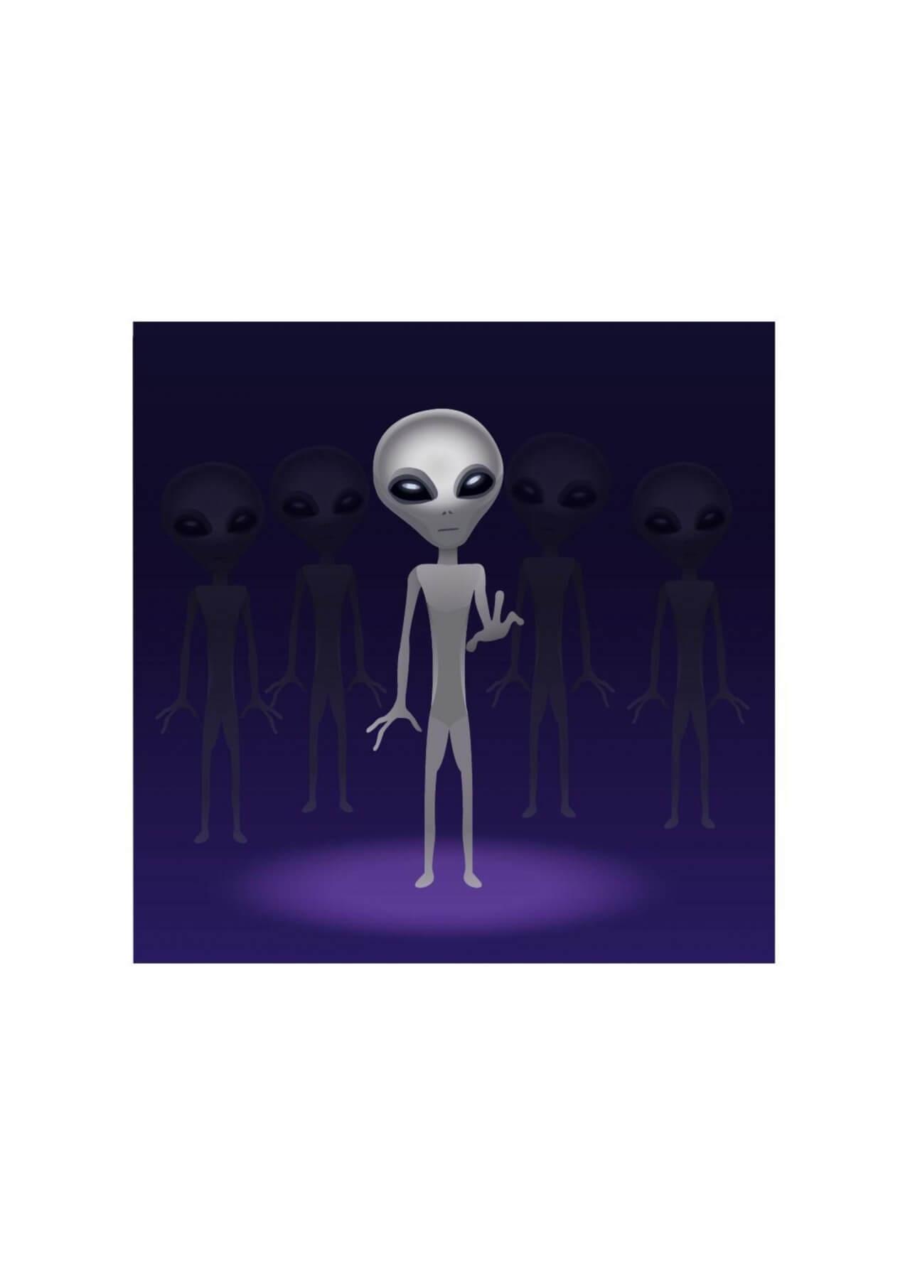 """Free vector """"Alien"""""""