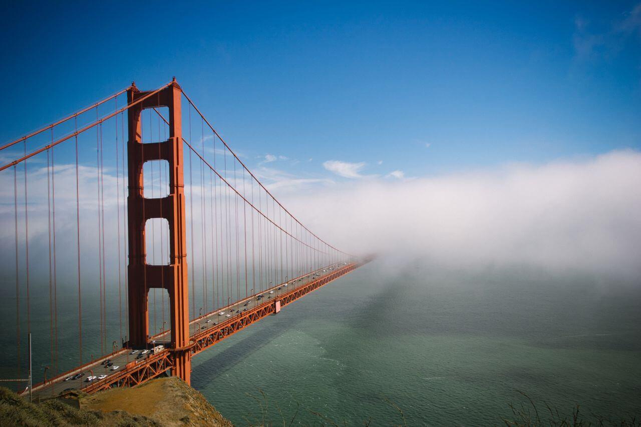 "Free photo ""Golden Gate Bridge Fog"" by Jerome Dominici"