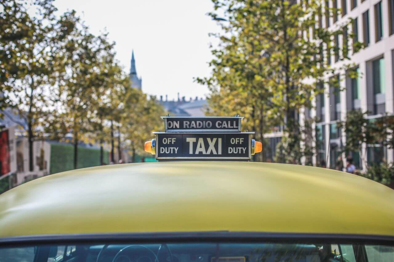 """Free photo """"Classic Yellow Taxi Cab"""" by clem onojeghuo"""