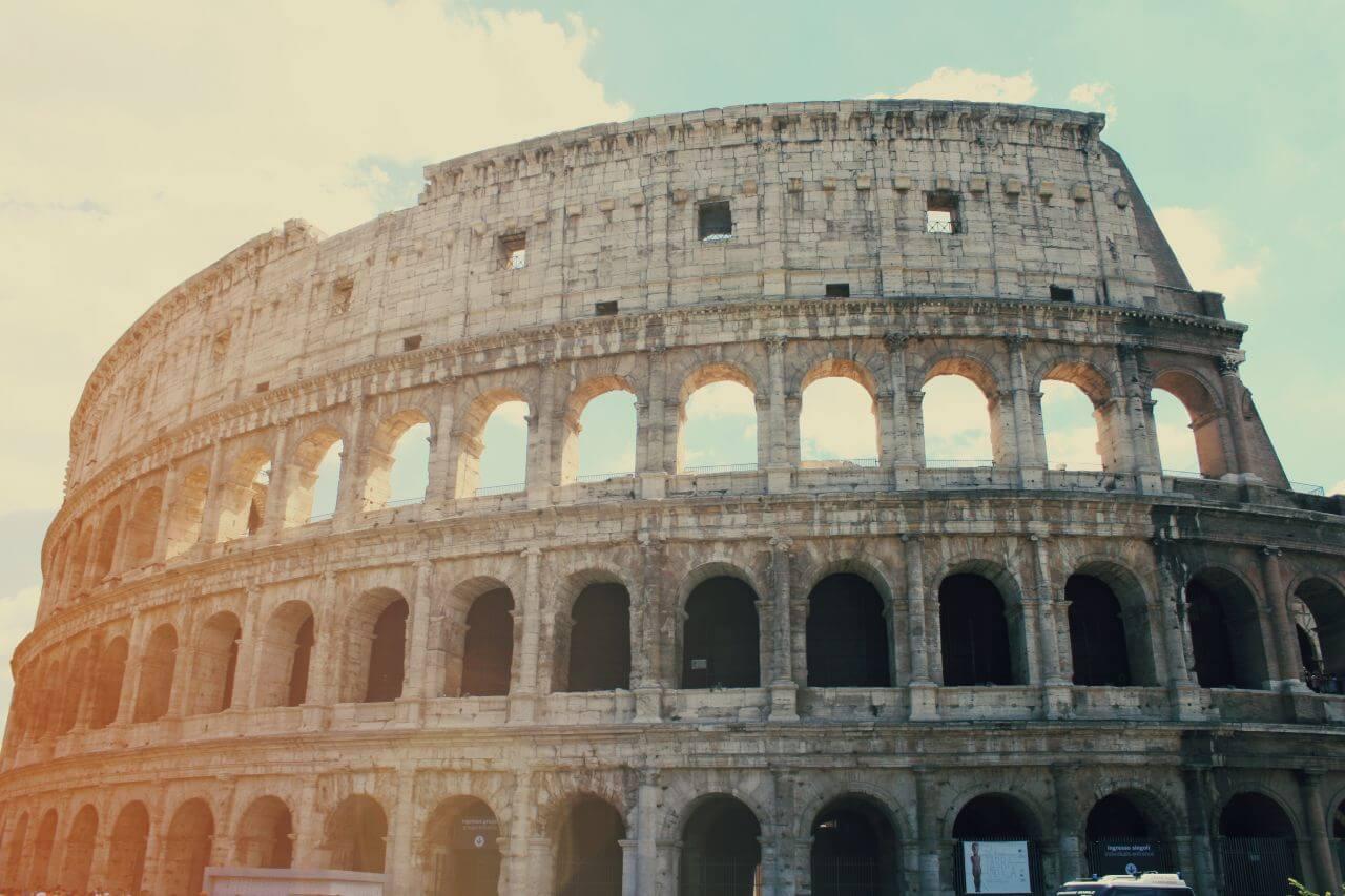 "Free photo ""Colosseum Roman Rome"" by Anastasia Zhenina"