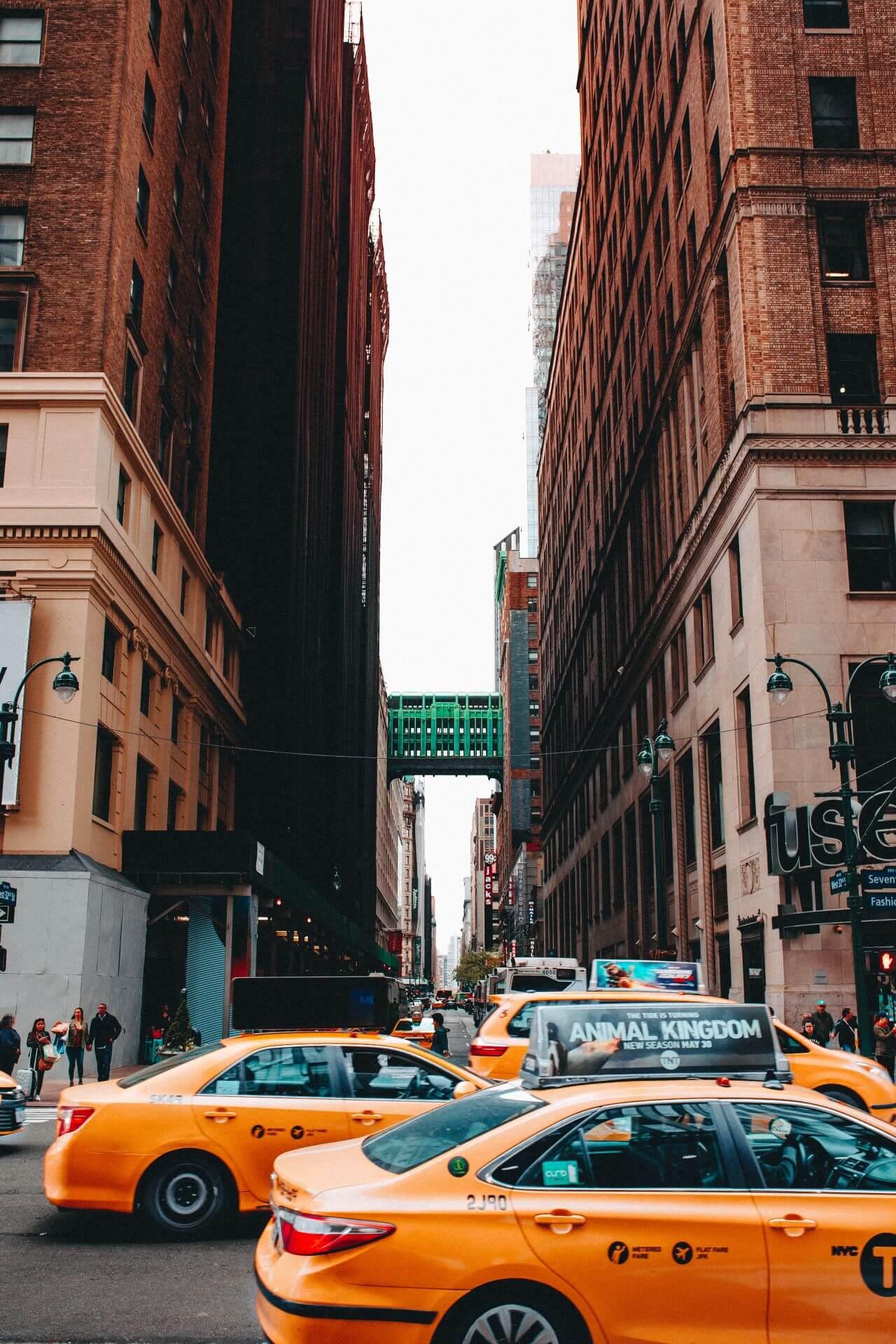 "Free photo ""Yellow Taxi Cab New York"" by matthew hamilton"