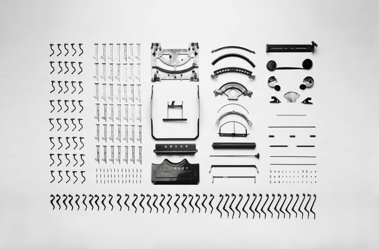 "Free photo ""Vintage Typewriter Components"" by florian klauer"