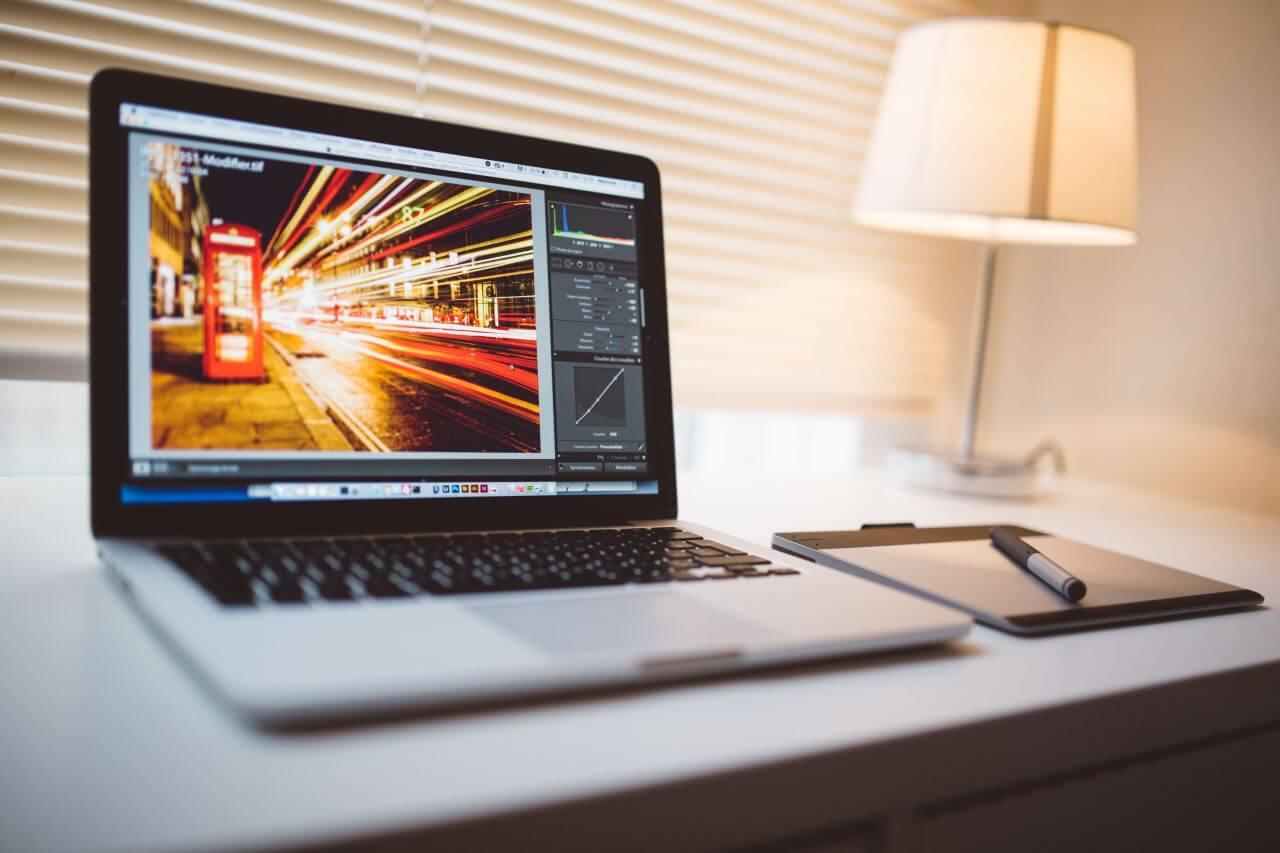 "Free photo ""Photo Editing on A Mac"" by NegativeSpace"