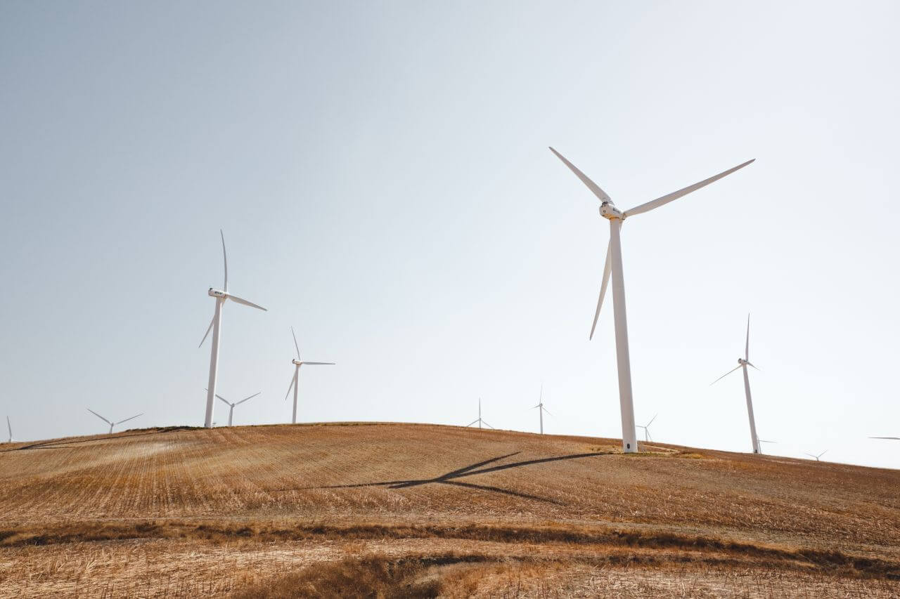 "Free photo ""Solar Wind Turbines"" by Luca Bravo"