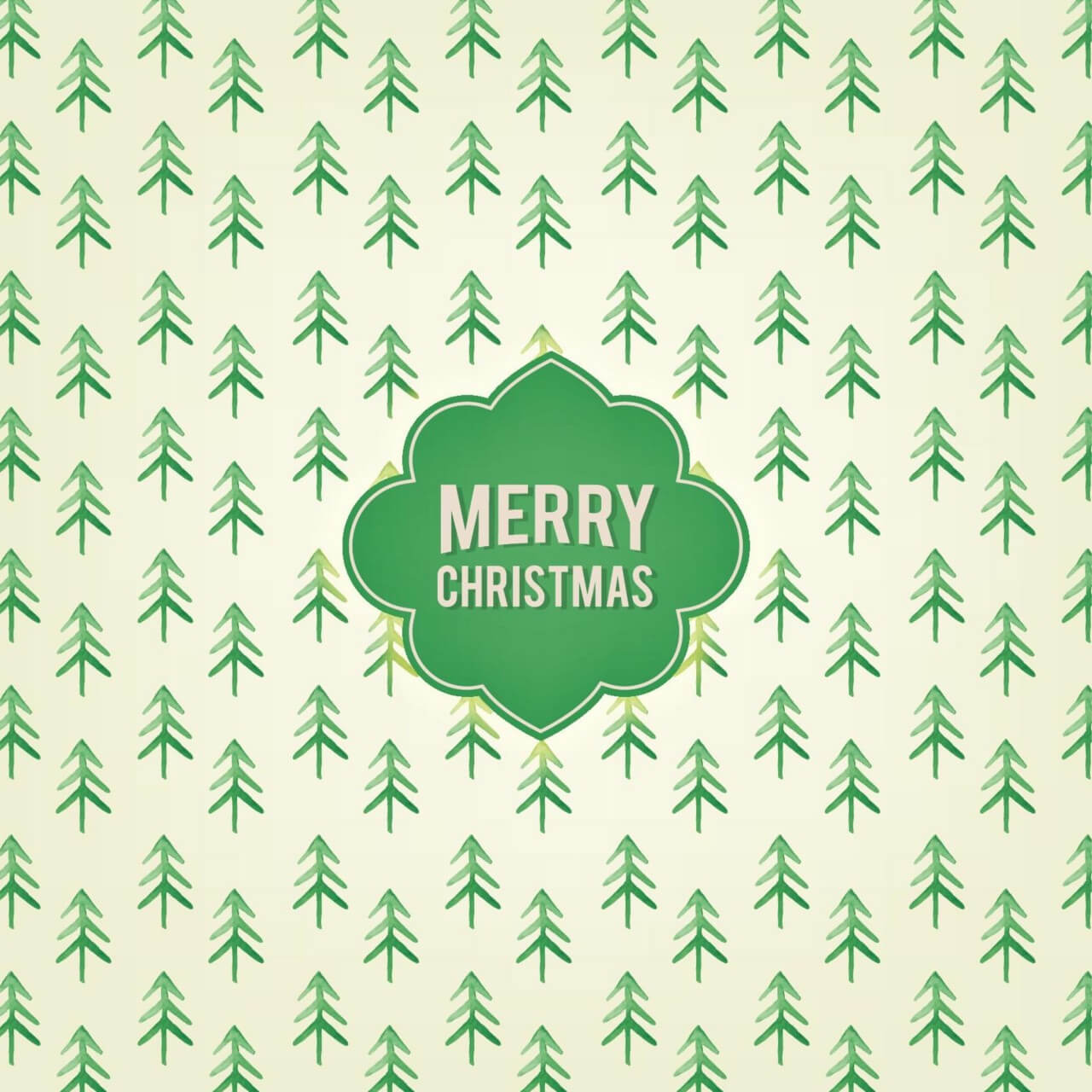 """Free vector """"Christmas background"""""""