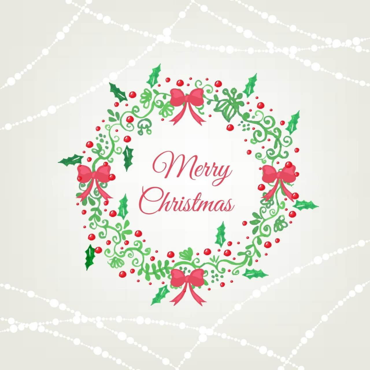"Free vector ""Christmas background with frame"""