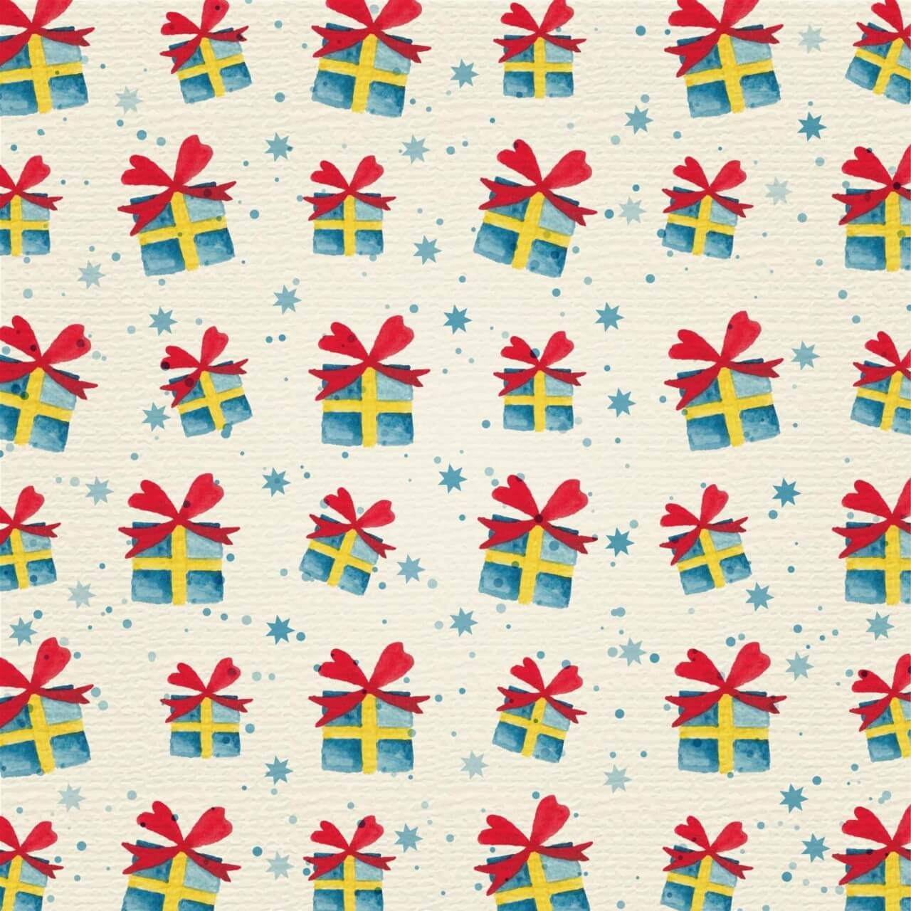 "Free vector ""Christmas background with gifts"""