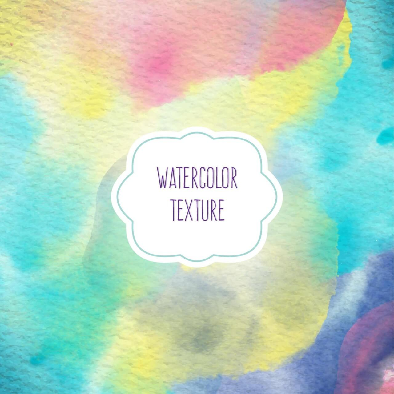 "Free vector ""Watercolor background"""