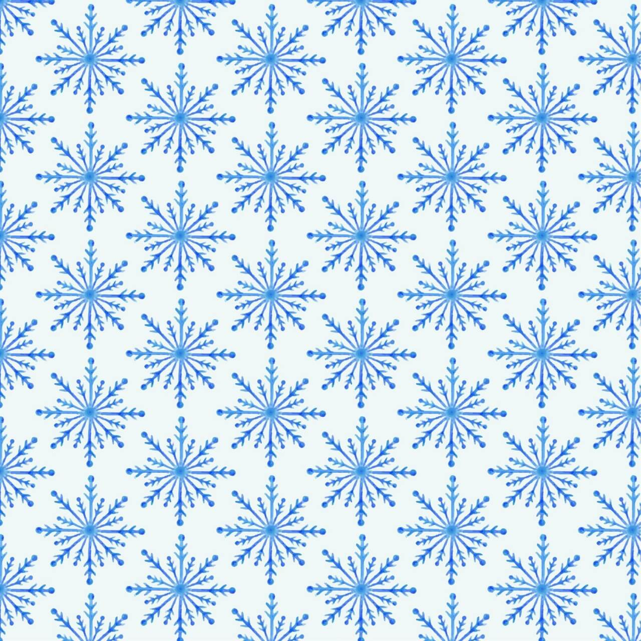 """Free vector """"Christmas pattern with snowflakes"""""""