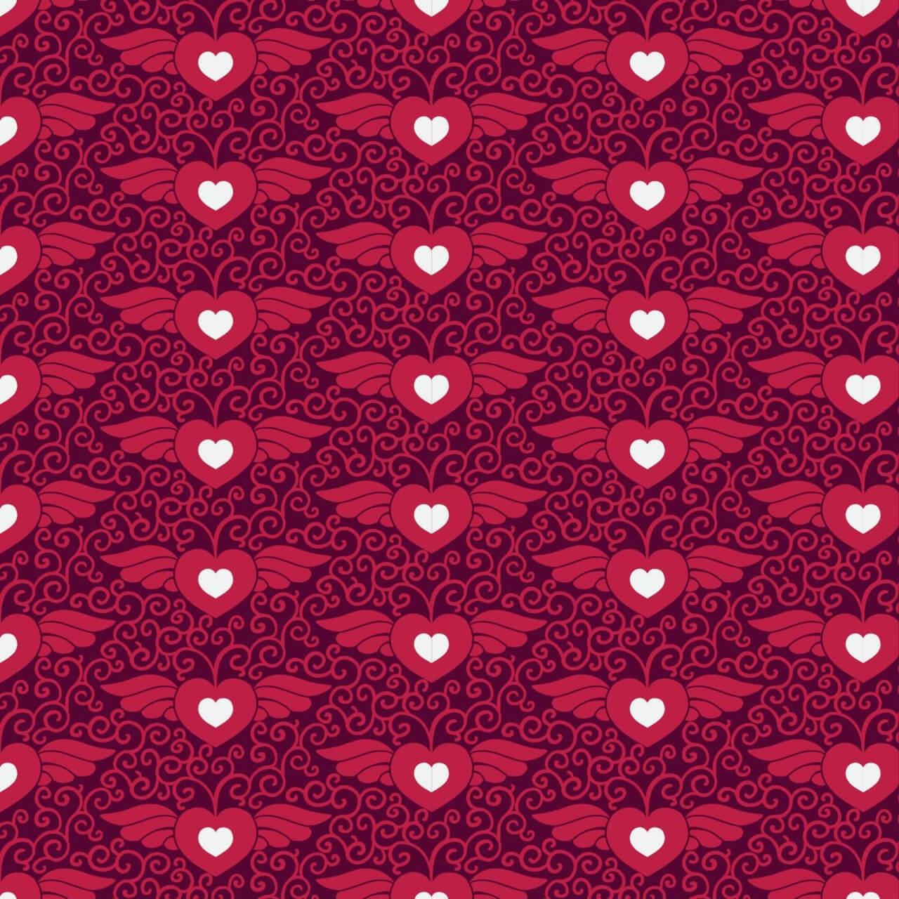 "Free vector ""Love pattern"""