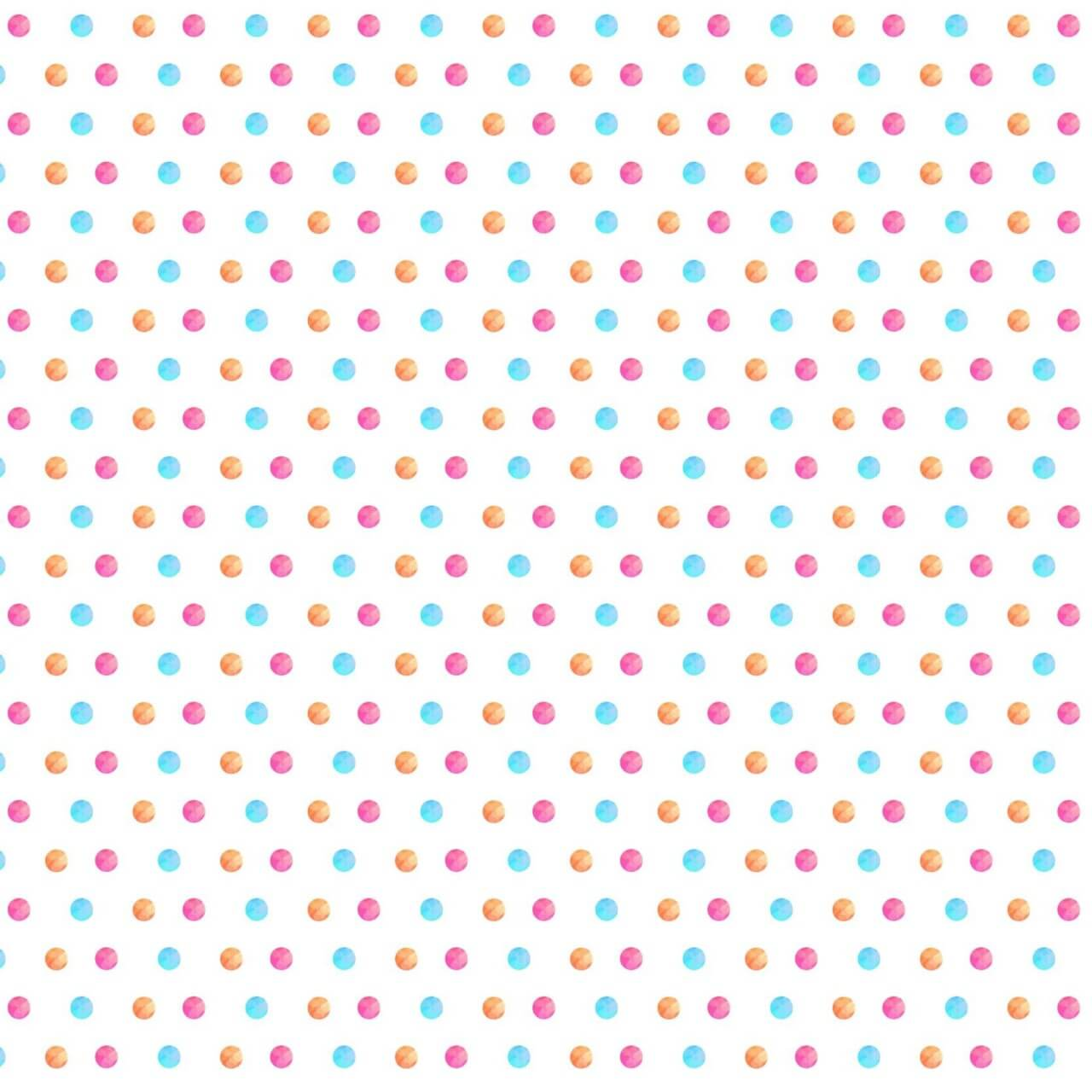 "Free vector ""Watercolor polka pattern"""