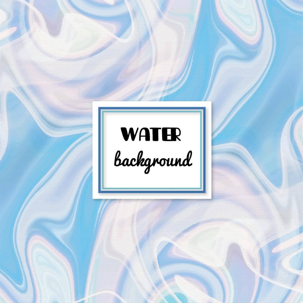"Free vector ""Water abstract background"""