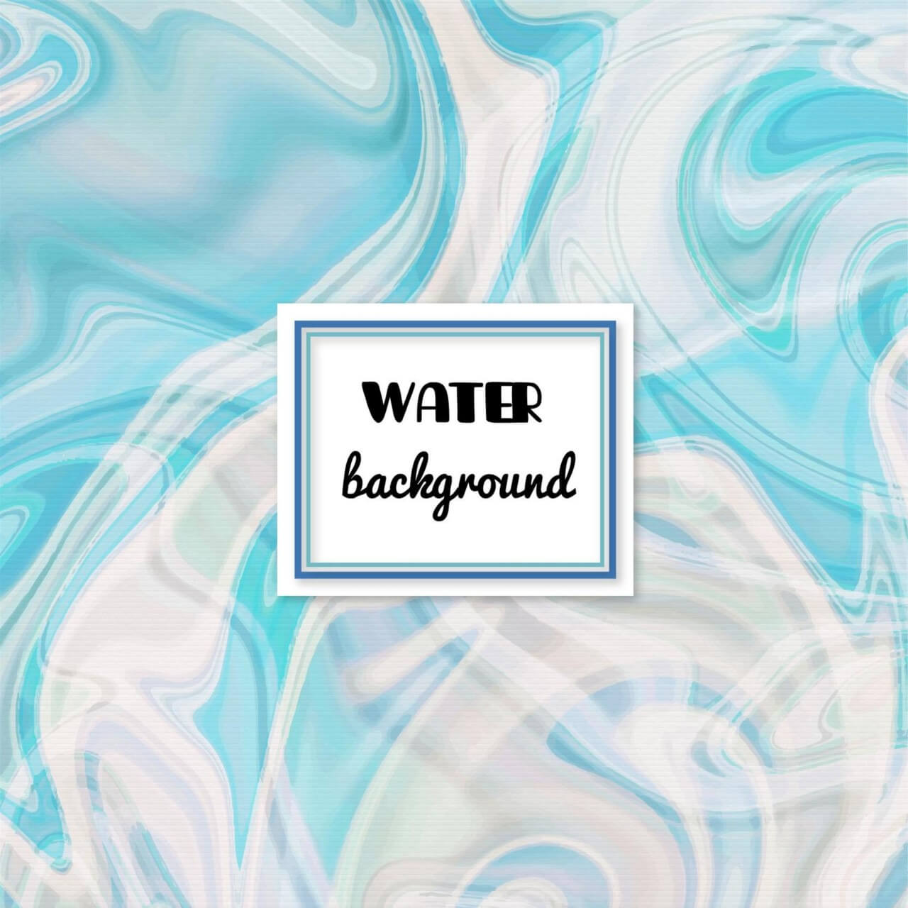 """Free vector """"Water abstract background"""""""