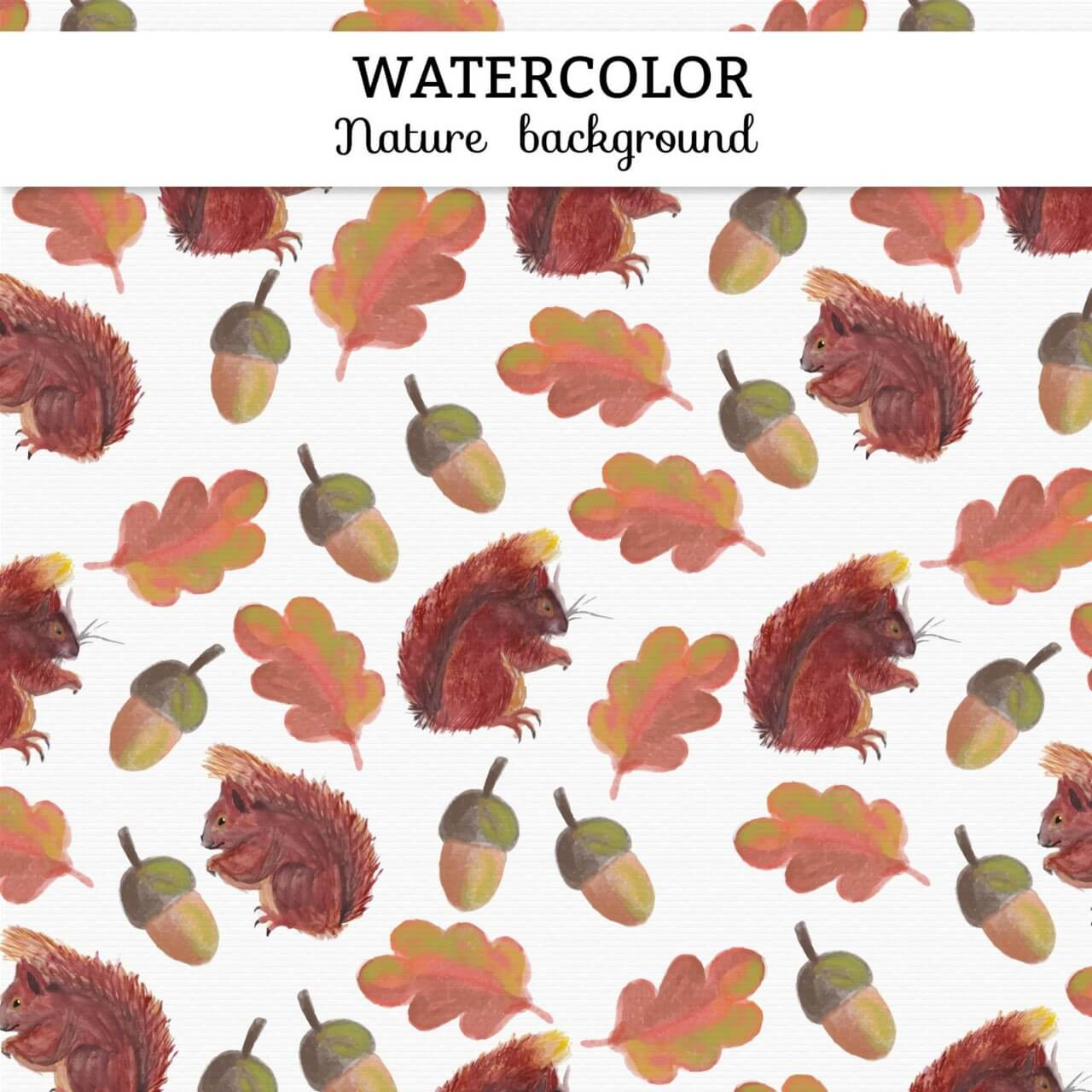 "Free vector ""Watercolor autumn background"""