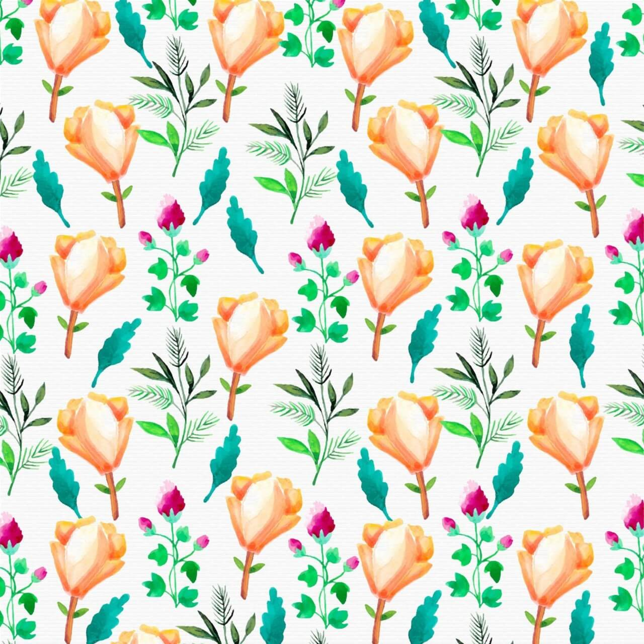 """Free vector """"Watercolor flower background"""""""