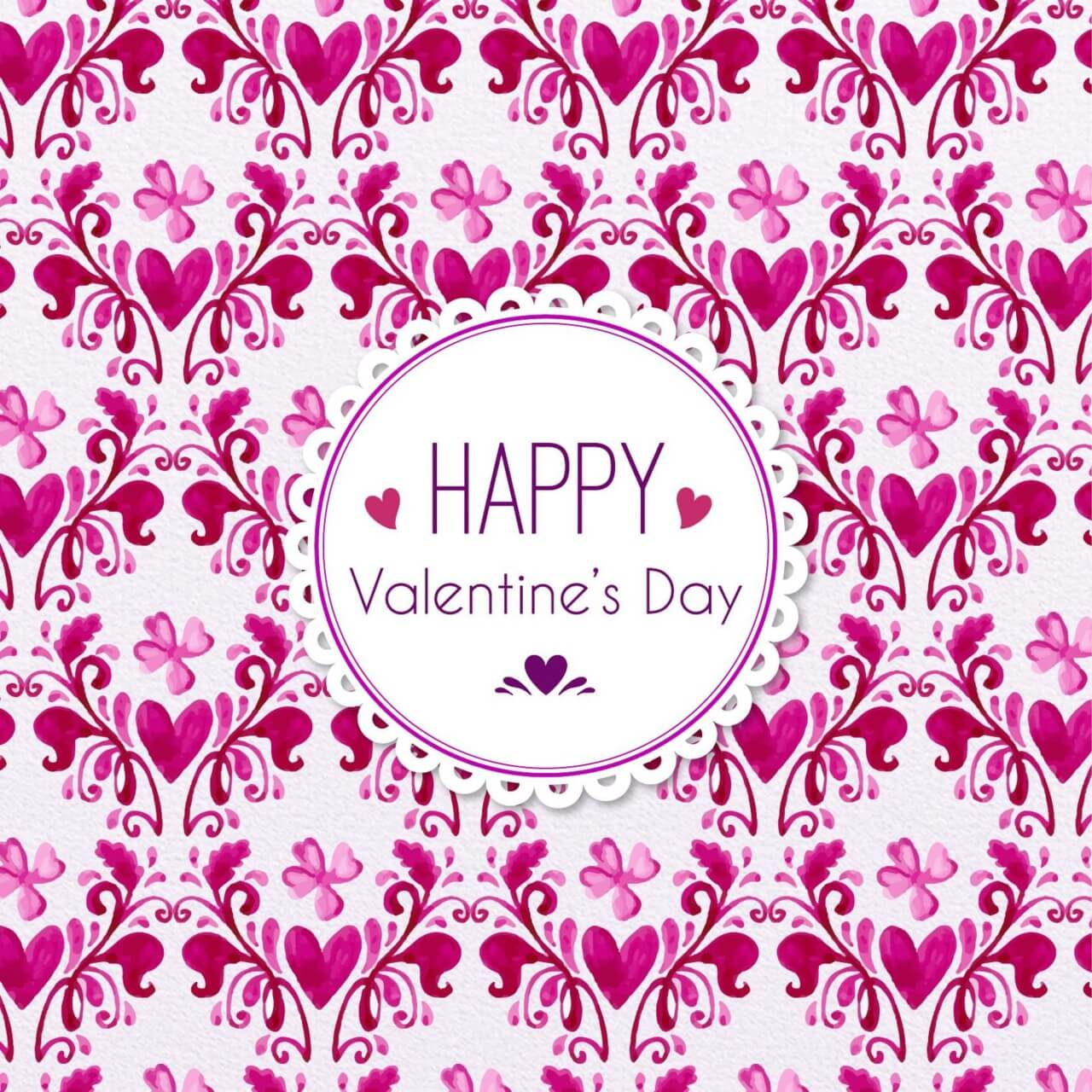 "Free vector ""Romantic Floral Pattern"""