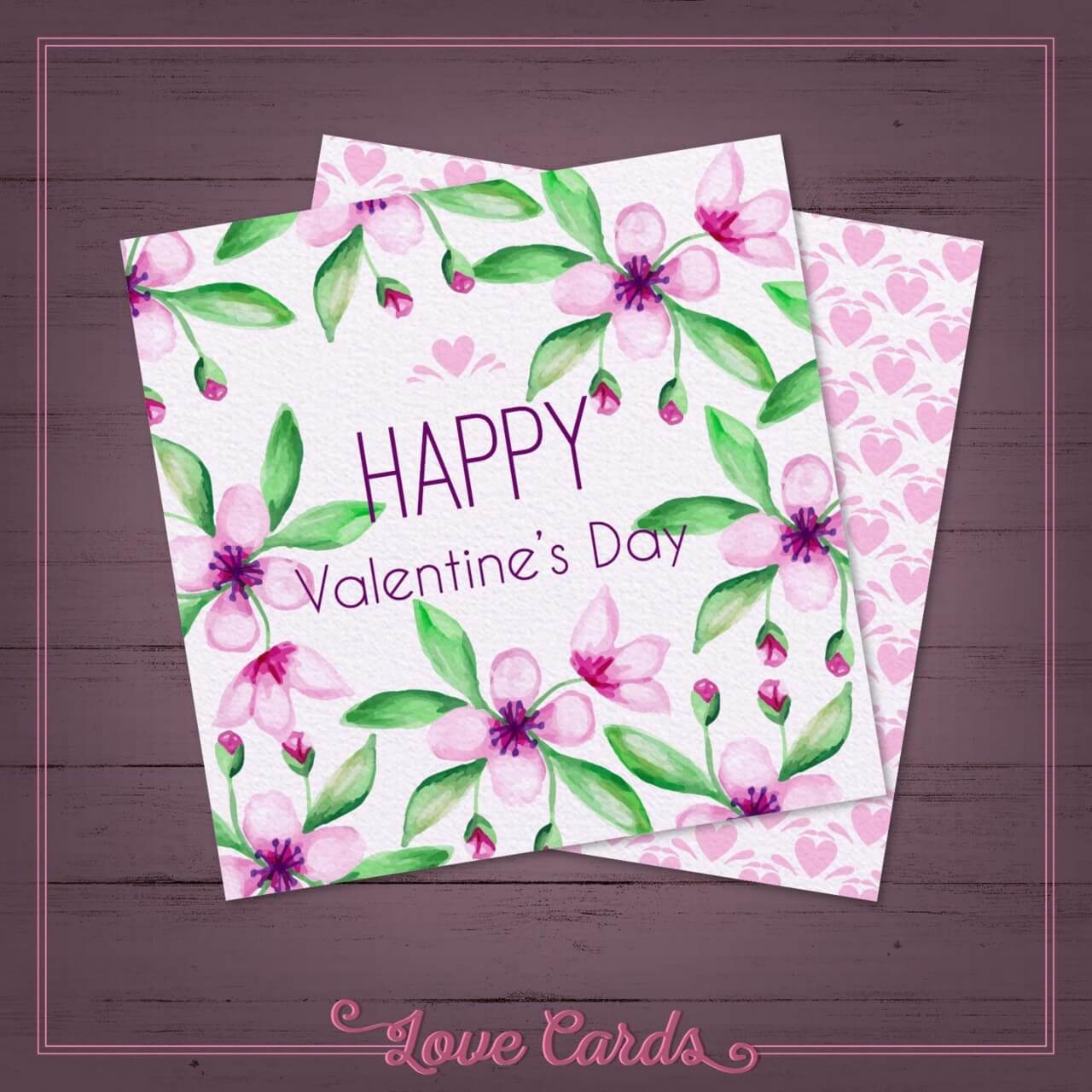 "Free vector ""Valentine's Day Cards"""