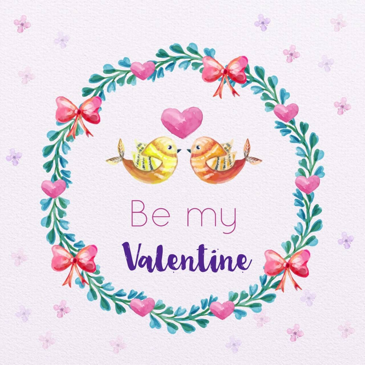 "Free vector ""Valentine's Day Romantic Frame """