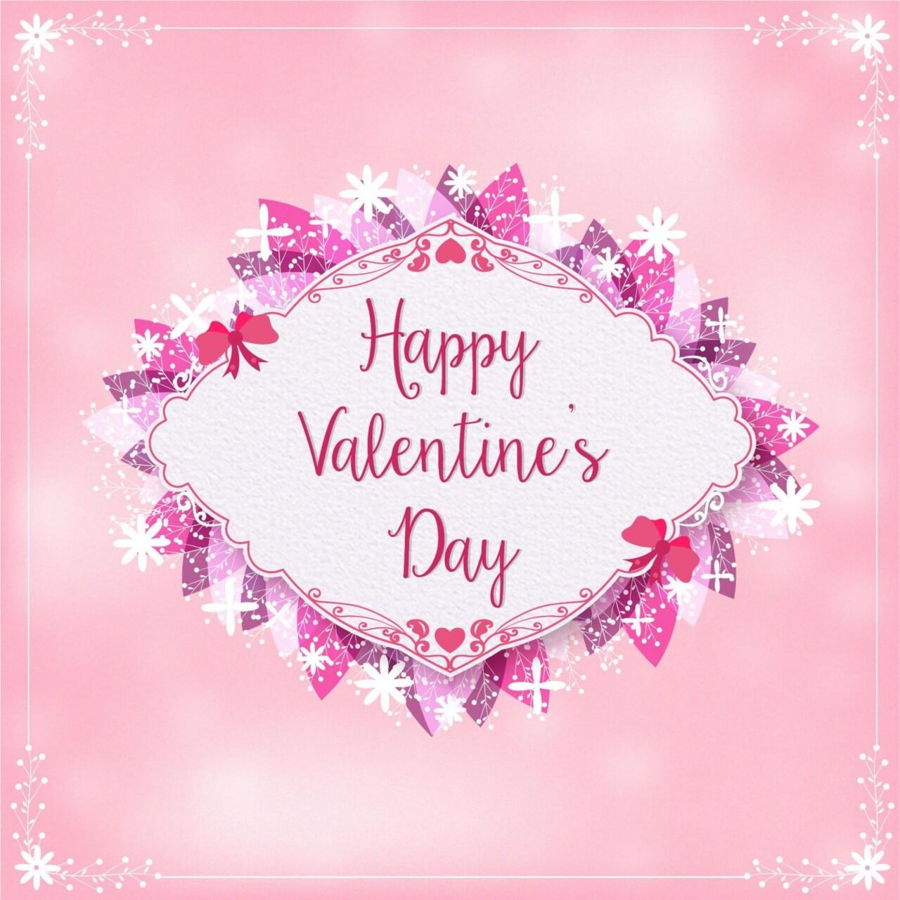 "Free vector ""Valentine's Day Illustration"""