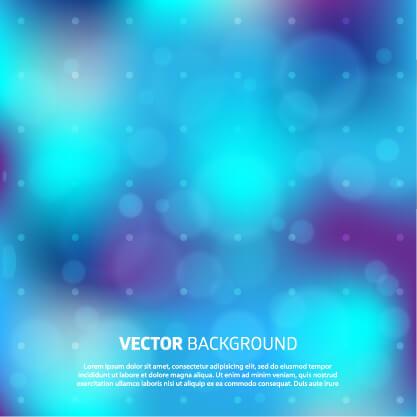 Blurry vector background vector