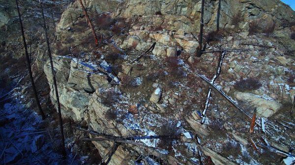 Okanagan  crags  winter video