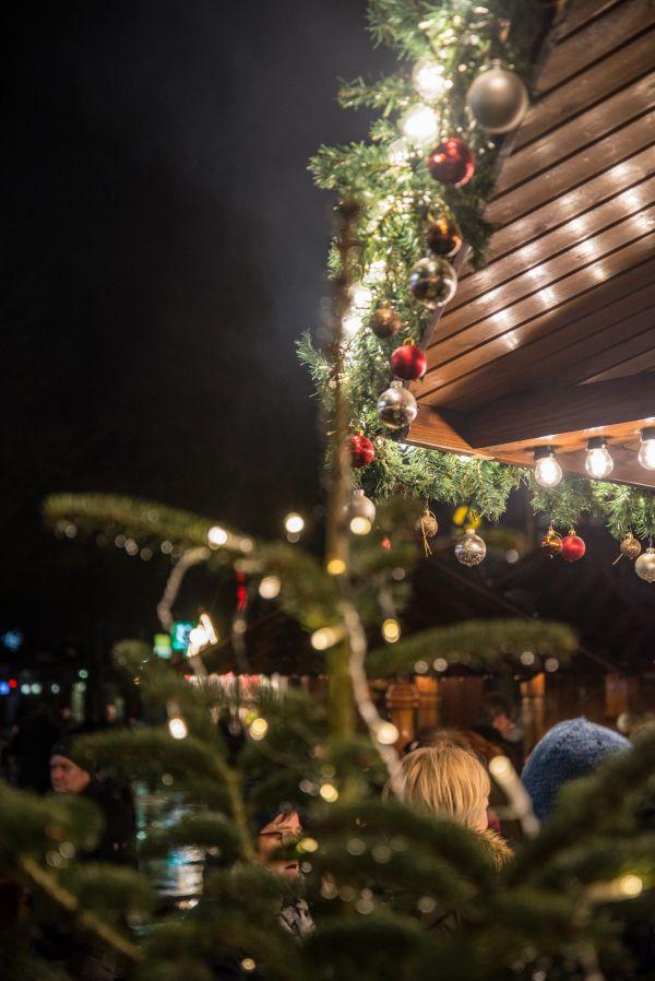 Christmas market photo