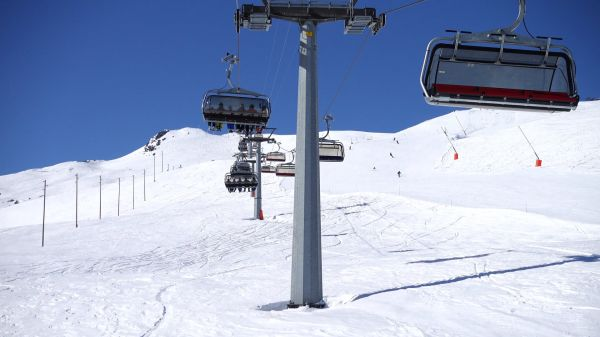 Chairlift  cable car  lift video