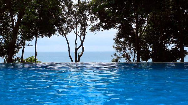 Swimming pool  waves  water video