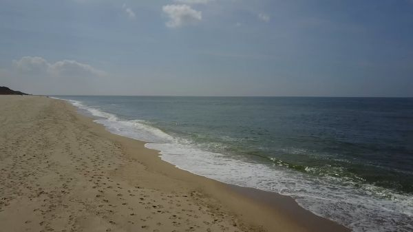 Beach  horizon  sea video