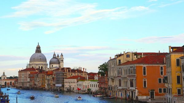 Italy  venice  river video