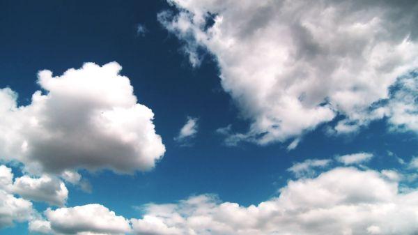 Sky  weather  blue video