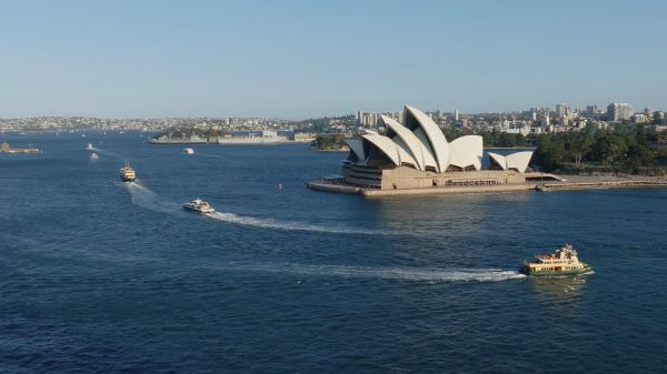 Sydney  harbor  port video