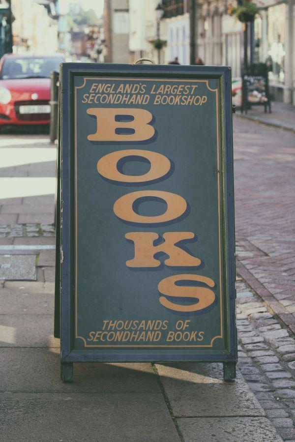 Book shop photo