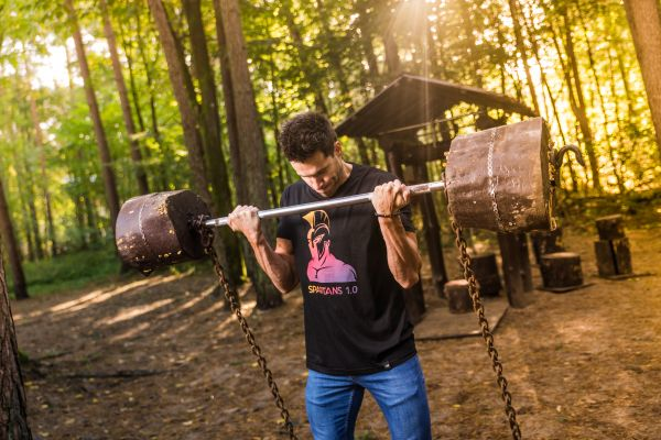 Forest workout photo