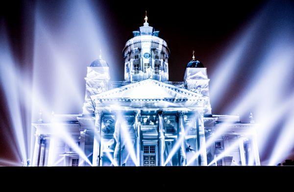 Helsinki Lux festival photo