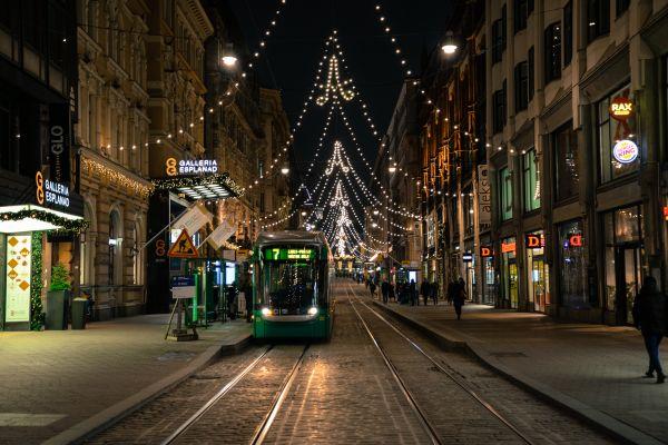Helsinki tram photo