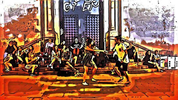 Dance  traditionally  dance sideshow video