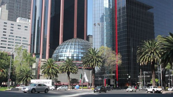 Mexican stock exchange  mexico city  mexico video