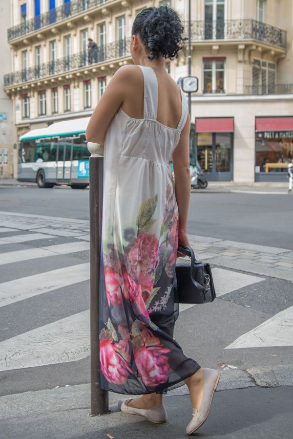 Woman in Paris photo