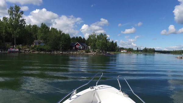 Boat  sea  nature video