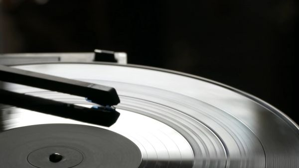 Turntable  music  retro video