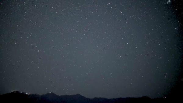 Stars  galaxy  night video