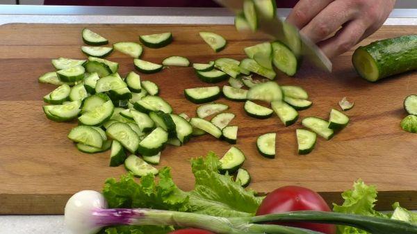 Vegetables  food  cucumber video